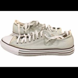Converse All Star Ox Sage Green Sneakers Shoes M8